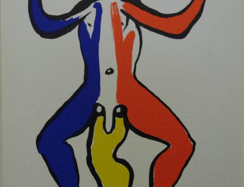 Alexander Calder – 1975 Critters – lithograph