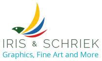 Iris en Schriek Logo