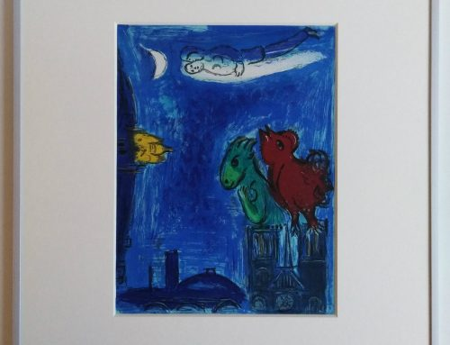 Marc Chagall – 1954 The monsters of the Notre Dame