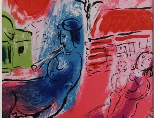 Marc Chagall – 1957 M195 Maternity – lithograph