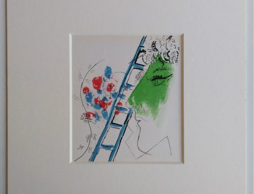 Marc Chagall – 1957 Jacob's Ladder