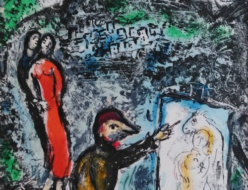 Marc Chagall – 1971 M646 Near St Jeannet – lithograph