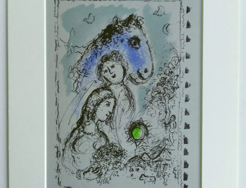Marc Chagall – 1982 The blue horse