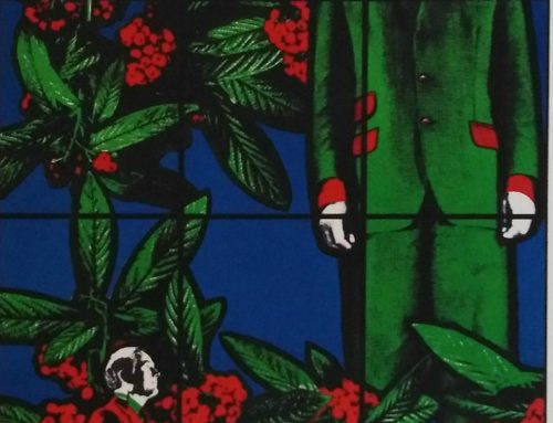 Gilbert & George – 1985 Berries – lithograph