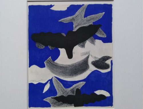 George Braque – 1955 Birds – lithograph